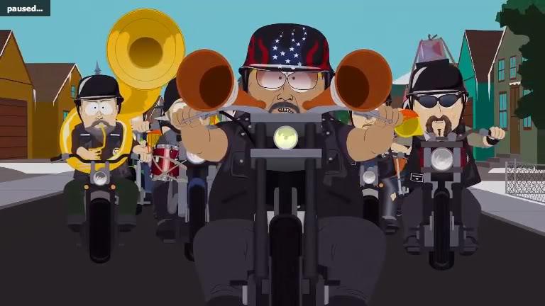 South Park Harley Davidsons