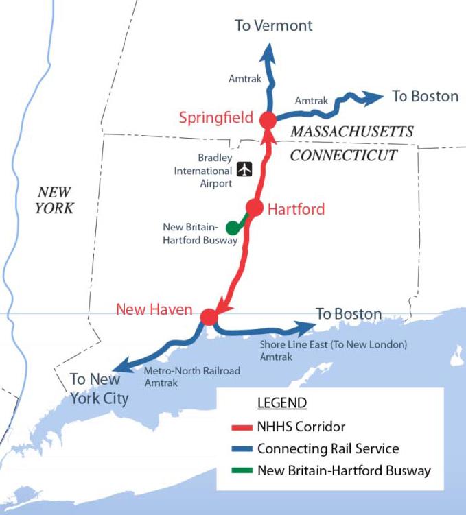 New Haven-Hartford-Springfield Rail