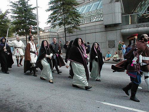 Jedi in Parade