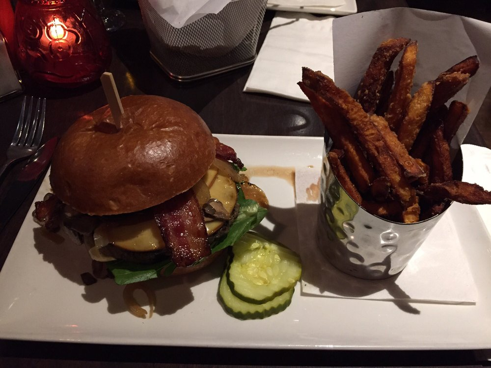 Smoker burger