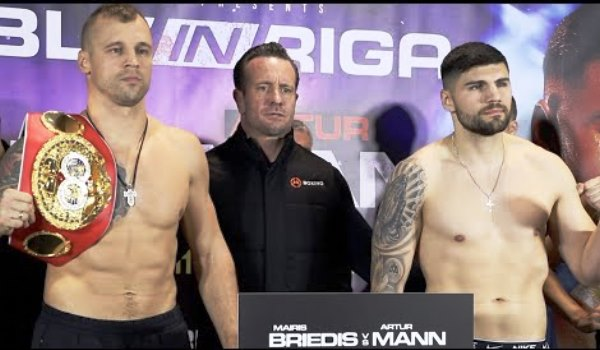 Mairis Brieidis expone por primera vez su título ante Artur Mann