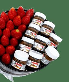 Strawberry with Nutella Box