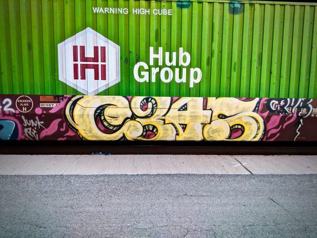 C34S tag graffiti