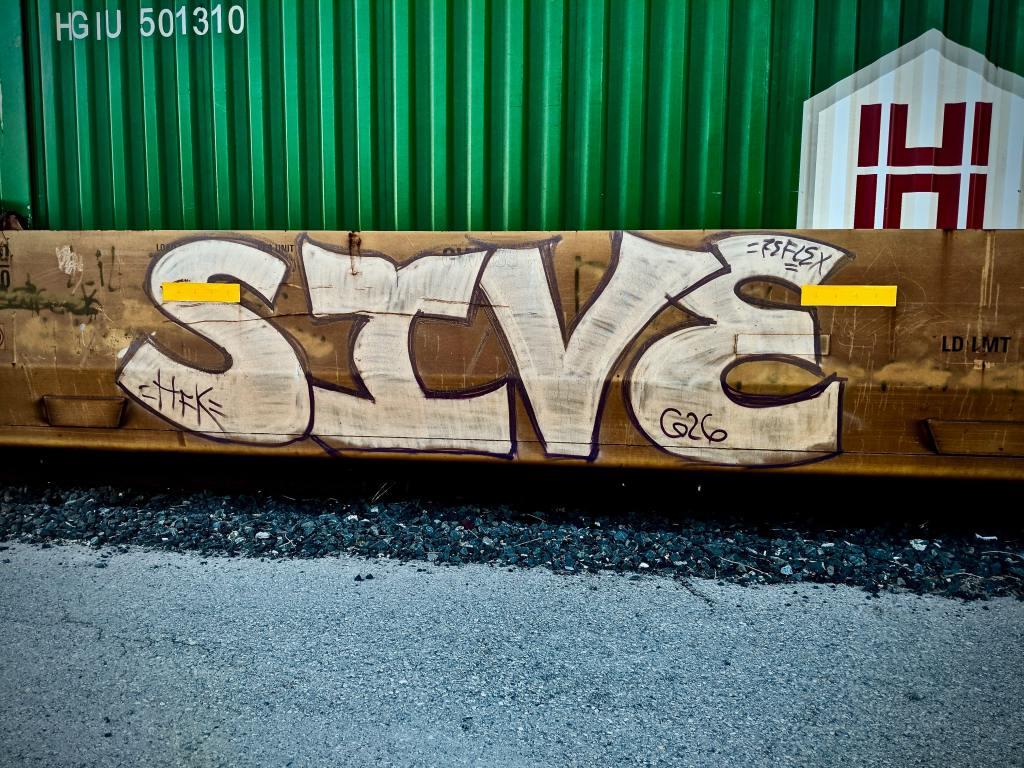 SIVE G26 graffiti