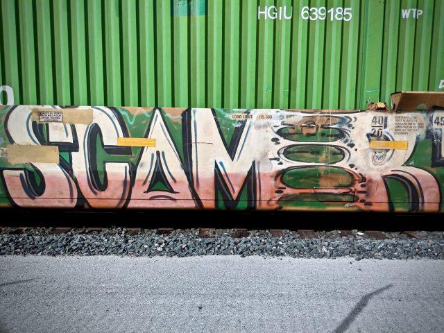 Scamer Graffiti