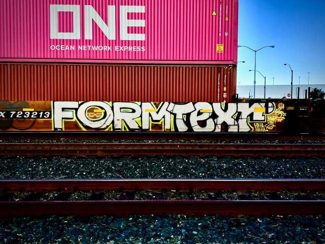 Formtexr HAHAHA graffiti
