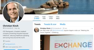 Christian Kinch, Small Cap, Winner, Börs-vd, twitter