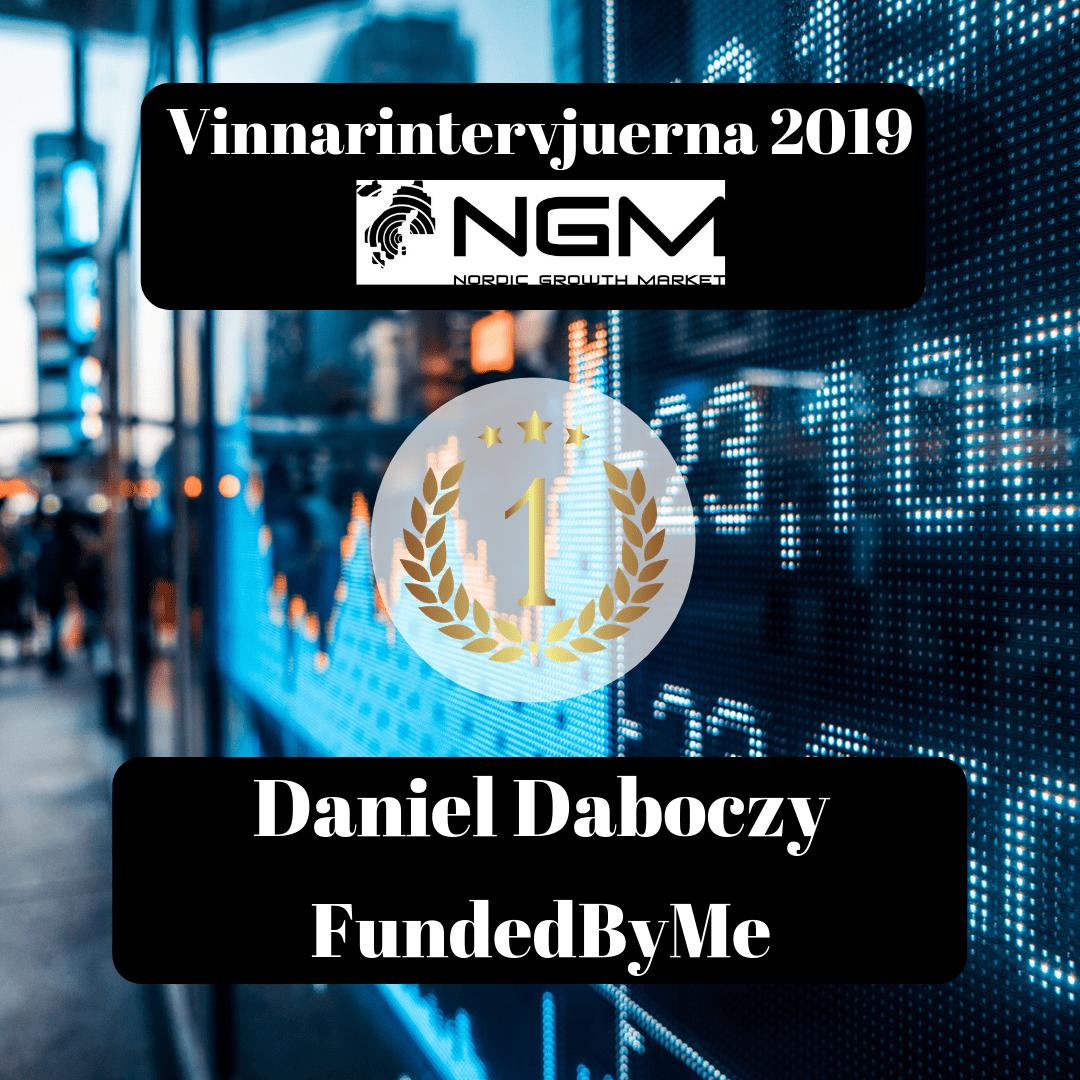 Vinnare, NGM, Daniel Daboczy, FundedByMe