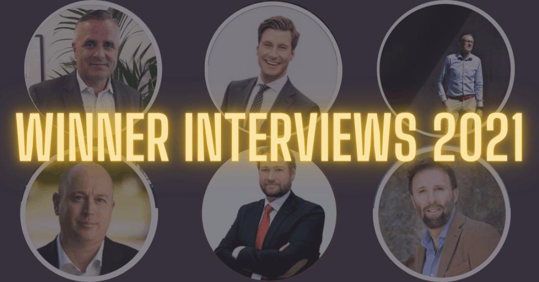 Winner interview, CEOs on Twitter