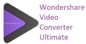 Wondershare Video Converter Ultimate Crack