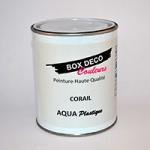 pot de peinture aqua plastique box deco couleurs