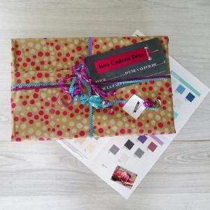 Idée cadeau box déco couleurs