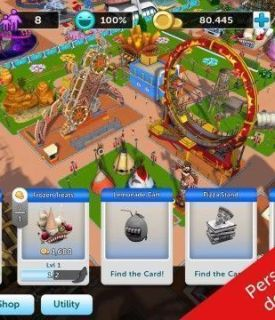 RollerCoaster Tycoon Touch Apk (1)