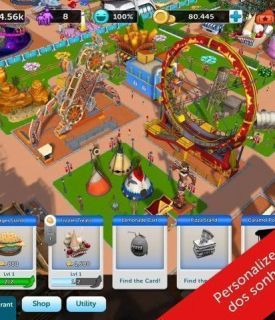 RollerCoaster Tycoon Touch Apk (2)