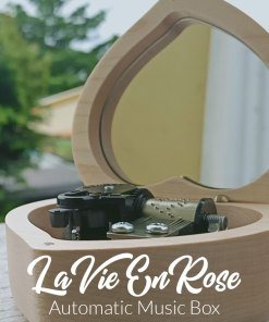 La Vie En Rose Automatic Music Box