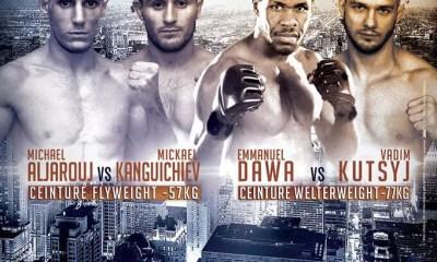 100% FIGHT 40 - Emmanuel DAWA et Michael ALJAROUJ en tête d'affiche