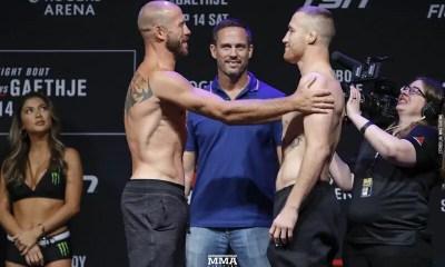 UFC Vancouver - Vidéo de la pesée