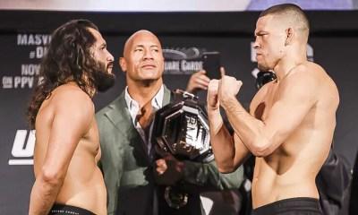 Jorge Masvidal vs Nate Diaz 2 - Une nouvelle ceinture BMF sera en jeu confirme Dana White
