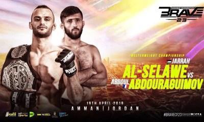 Abdoul ABDOURAGUIMOV vs Jarrah AL-SELAWE pour la ceinture des Welterweights