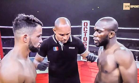 Yves LANDU vs Yazid CHOUCHANE - Pancrace Fight Video - Octogone 1