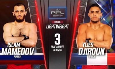 Ylies Djiroun vs Islam Mamedov - Combat de MMA - Vidéo PFL 2