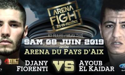ARENA FIGHT - Ayoub EL KHAIDAR fait son retour face à Djany FIORENTI