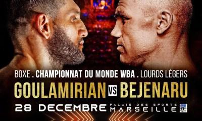 Arsen GOULAMIRIAN défendra sa ceinture mondiale face au TOP 10 WBA à Marseille