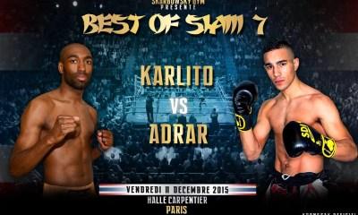 Charles François vs Morgan Adrar 2 - Full Fight Video - Best Of Siam 7