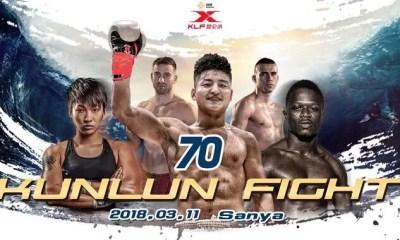 Yohann DRAI et Laetitia MADJENE au Kunlun Fight 70