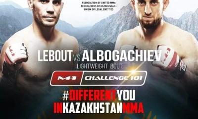 Mickael LEBOUT vs Alik ALBOGACHIEV pour devenir le challenger à la ceinture !
