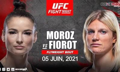Manon Fiorot affrontera Maryna Moroz pour son deuxième combat à l'UFC