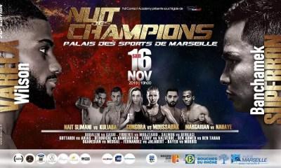 Nuit des Champions 26 - Découvrez le programme complet pour ce samedi 16 novembre