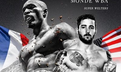 Michel SORO vs Greg VENDETTI à Paris pour un championnat du Monde WBA