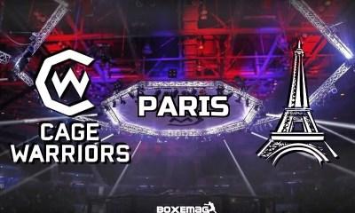 Le Cage Warriors à Paris, une date est annoncée !