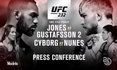 UFC 232 - Résultats