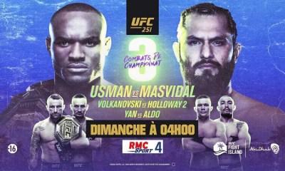 UFC 251 Usman vs Masvidal - Carte des combats, résultats, infos direct live et vidéos