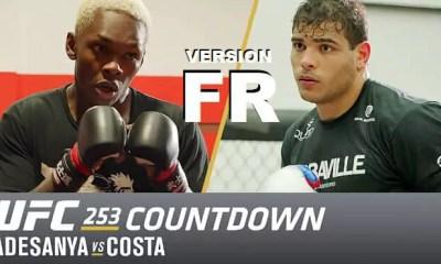UFC 253 - Adesanya vs Costa - Countdown version Française