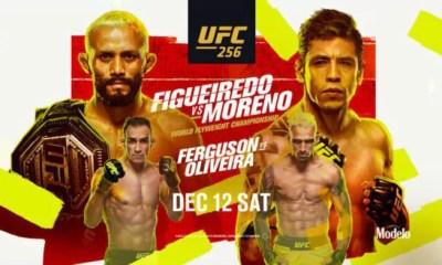 UFC 256 Résultats - Figueiredo vs Moreno