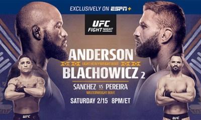 UFC Rio Rancho - Anderson vs. Blachowicz 2 - Infos du Direct Live et Résultats