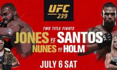 UFC 239 - Les Résultats