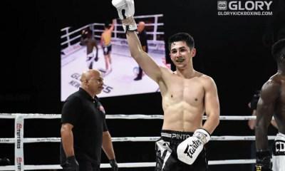 GLORY Résultats - Victor PINTO prend la victoire après un combat très engagé
