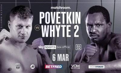 La revanche Povetkin vs Whyte rebookée pour le 6 mars