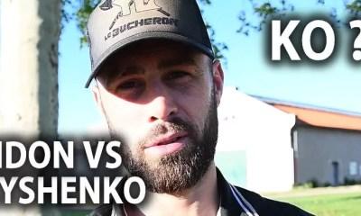 ARENA FIGHT - Yohan LIDON répond à Arthur KYSHENKO - VIDEO
