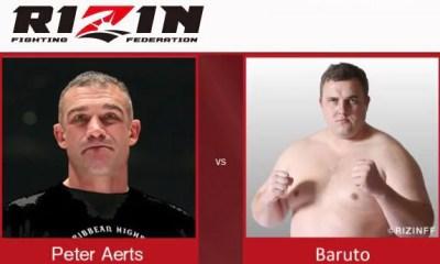 Peter Aerts vs Baruto - Full Fight Video - Rizin FF