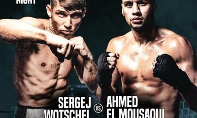 Ahmed El Mousaoui vs Sergej Wotschel à Dusseldorf