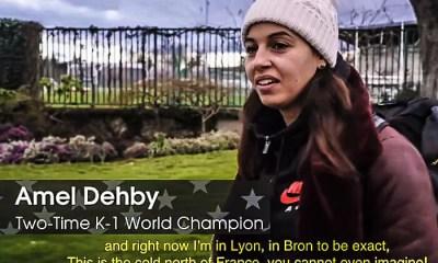 Amel DEHBY - Reportage inédit sur sa préparation pour le GLORY 53 - VIDEO