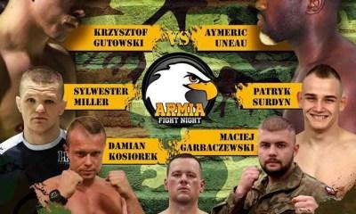 MMA - Aymeric UNEAU  en combat vedette de l'ARMIA Fight Night 3