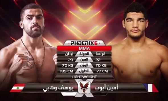 Amin AYOUB vs Youssef WEHBE - Combat de MMA - Fight Video