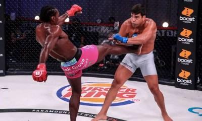 Bellator 245 - Video HL Machida vs Davis