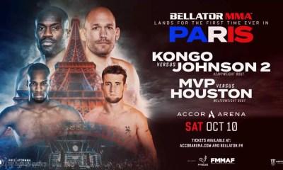 BELLATOR Paris - La carte des combats MMA et Boxe